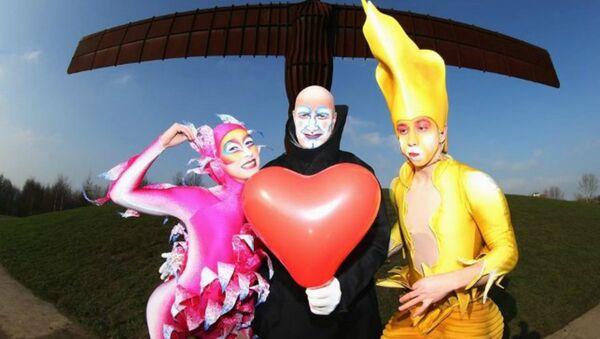 Артысты Cirque du Soleil - Sputnik Беларусь