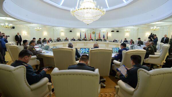Юбілейнае пасяджэнне ваеннага камітэта АДКБ у Мінску - Sputnik Беларусь