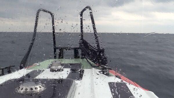 Поисково-спасательная операция в акватории Черного моря, где затонул сухогруз - Sputnik Беларусь