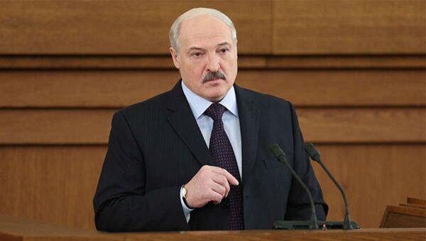 Президент Беларуси Александр Лукашенко 21 апреля обратился с ежегодным Посланием к белорусскому народу и Национальному собранию. - Sputnik Беларусь