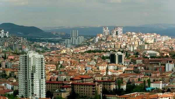 Вид на город Анкара - Sputnik Беларусь