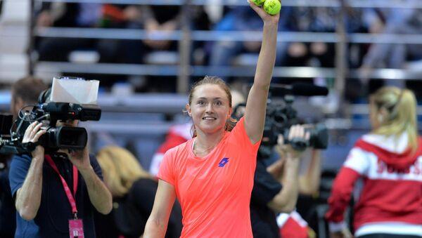 Белорусская теннисистка Александра Саснович - Sputnik Беларусь