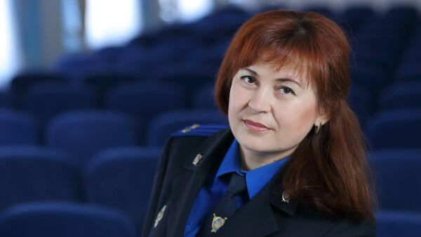 Официальный представитель УСК по Могилевской области Оксана Соленюк - Sputnik Беларусь