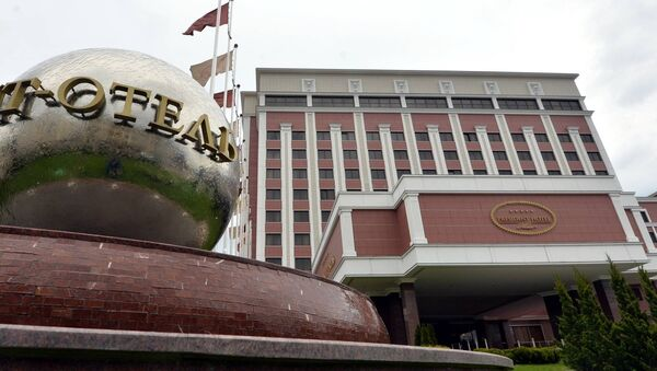Президент-отель в Минске - Sputnik Беларусь