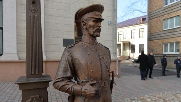 Памятник городовому в Минске - Sputnik Беларусь