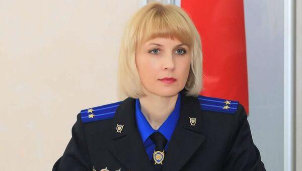 Официальный представитель Следственного комитета Беларуси по Витебской области Светлана Сахарова - Sputnik Беларусь