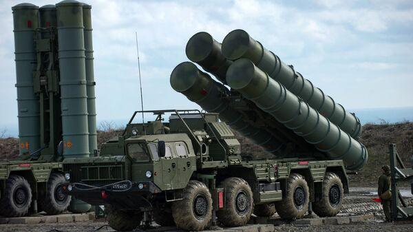 Зенітны ракетны комплекс С-400 Трыумф, архіўнае фота - Sputnik Беларусь
