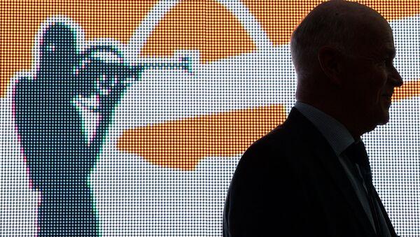Президент Международного союза биатлонистов Андерс Бессеберг - Sputnik Беларусь