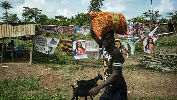 Деревня в Либерии, архивное фото - Sputnik Беларусь