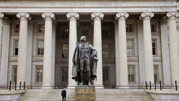 Министерство финансов США, архивное фото - Sputnik Беларусь