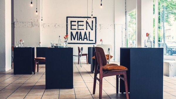 Ресторан для одиноких посетителей в Амстердаме - Sputnik Беларусь