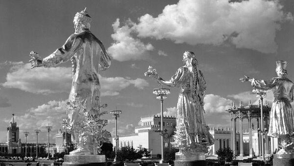 ВДНХ (Выставка достижений народного хозяйства) в Москве - Sputnik Беларусь