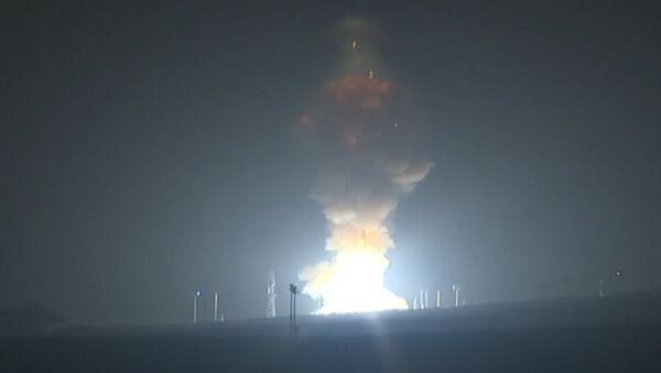 Второй за неделю запуск межконтинентальной баллистической ракеты Minuteman III в США - Sputnik Беларусь
