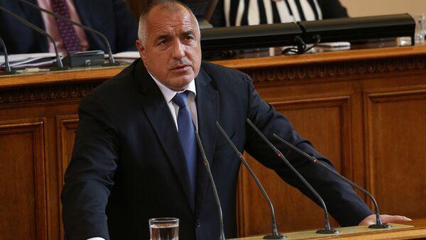 Премьер-министр Болгарии Бойко Борисов - Sputnik Беларусь