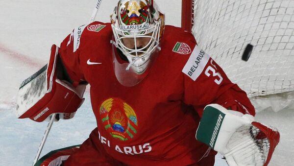 Голкипер сборной Беларуси по хоккею Кевин Лаланд - Sputnik Беларусь