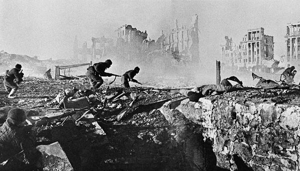 Сталинградская битва. Штурм дома. Ноябрь 1942 года. - Sputnik Беларусь