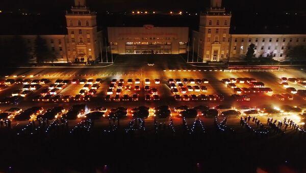 Ноч Перамогі: відовішчны флэшмоб на прахадной МТЗ - Sputnik Беларусь