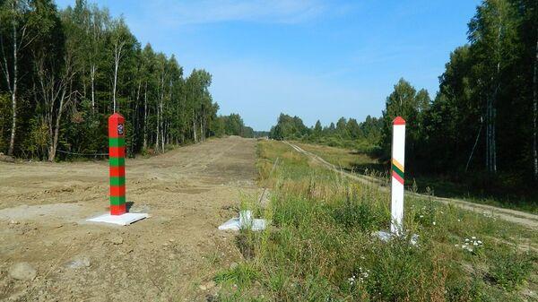 Граница России и Литва - Sputnik Беларусь