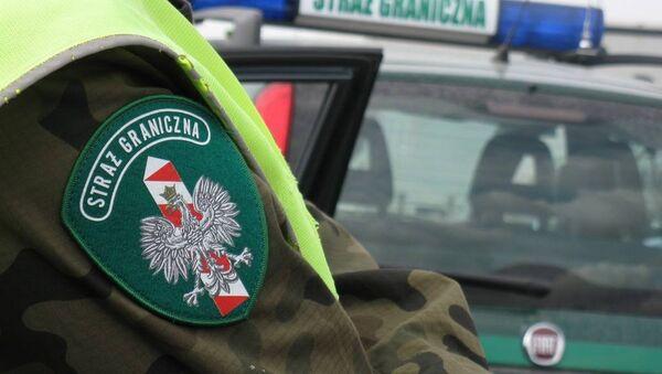 Польские пограничники - Sputnik Беларусь