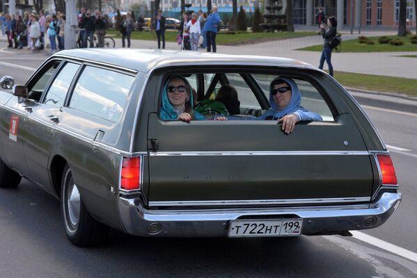 Ретро-автомобили – фестиваль Ретро-Минск - 2017 - Sputnik Беларусь