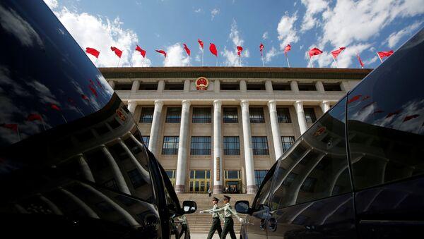 Место проведения форума в Пекине - Sputnik Беларусь