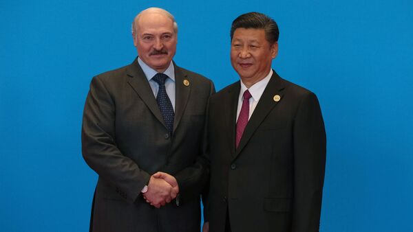 Президенты Беларуси и Китая, Алексендр Лукашенко и Си Цзиньпин - Sputnik Беларусь