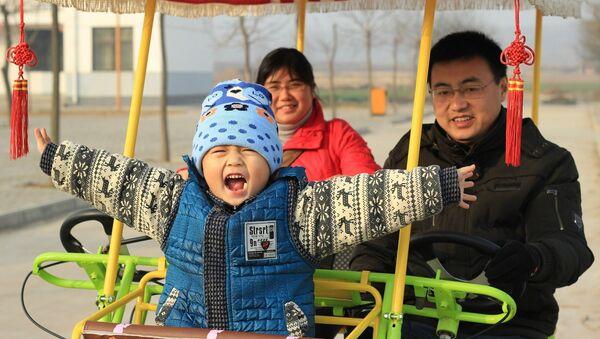 Китайская семья, архивное фото - Sputnik Беларусь