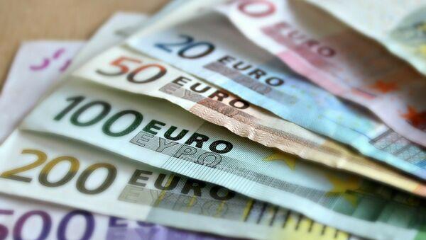 Евро, архивное фото - Sputnik Беларусь