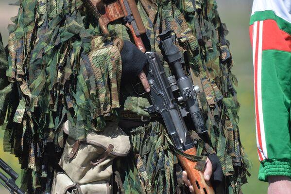Войсковый костюм для снайперов Леший - Sputnik Беларусь