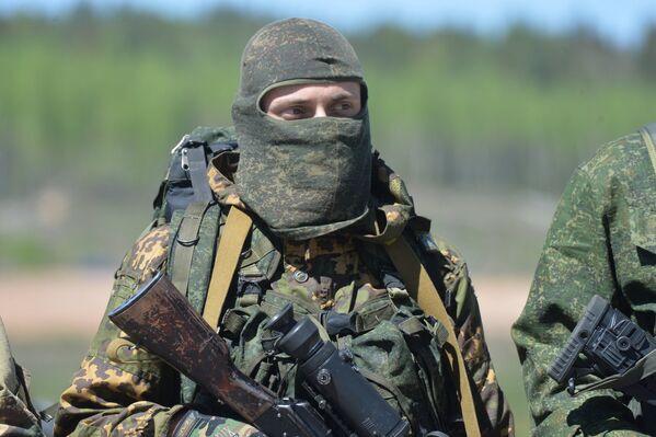 Солдат войсковой части - Sputnik Беларусь