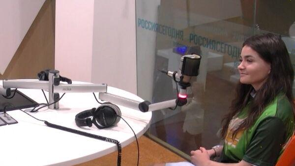 Ты супер!: Даша Чарнова і Віктар Дробыш пабывалі ў гасцях у Sputnik - Sputnik Беларусь