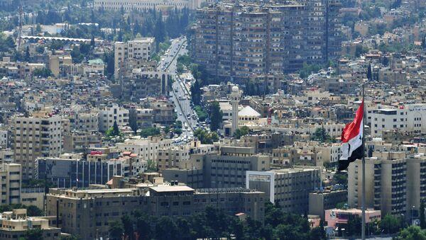Вид на Дамаск с горы Касьюн - Sputnik Беларусь