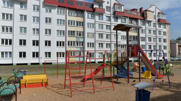 Детская площадка в Минске - Sputnik Беларусь