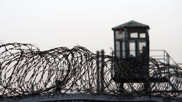 Охранный периметр тюрьмы, архивное фото - Sputnik Беларусь