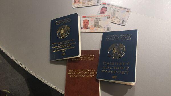 Образцы биометрических документов в Беларуси - Sputnik Беларусь