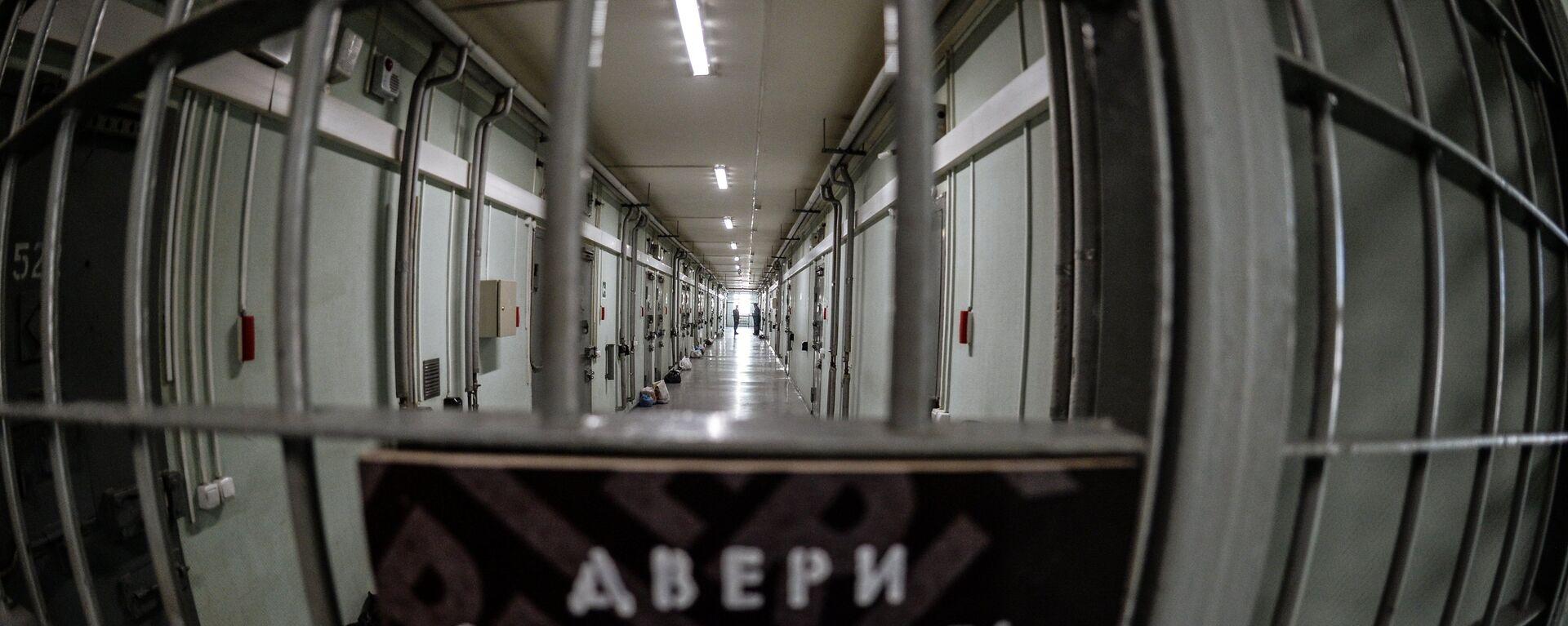 Коридор в тюрьме - Sputnik Беларусь, 1920, 11.09.2019