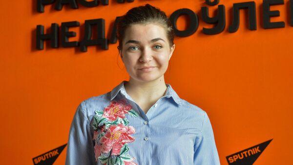 Финалистка проекта Ты супер! Дарья Чернова - Sputnik Беларусь