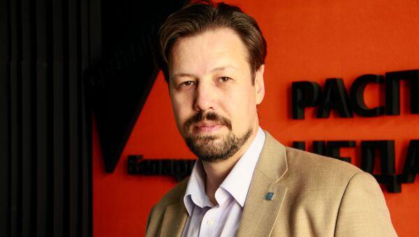 Мастацтвазнаўца Аляксандр Зіменка - Sputnik Беларусь