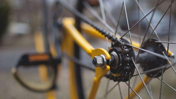 Колесо велосипеда, архивное фото - Sputnik Беларусь