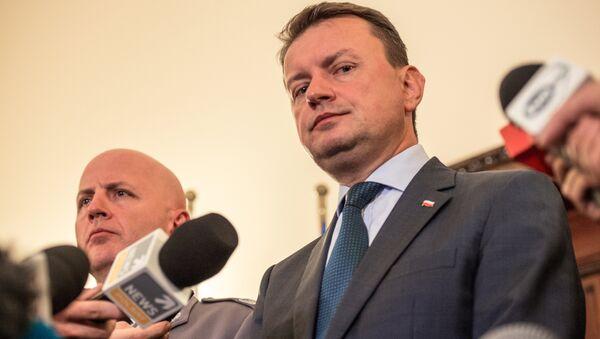Министр внутренних дел Польши Мариуш Блащак - Sputnik Беларусь