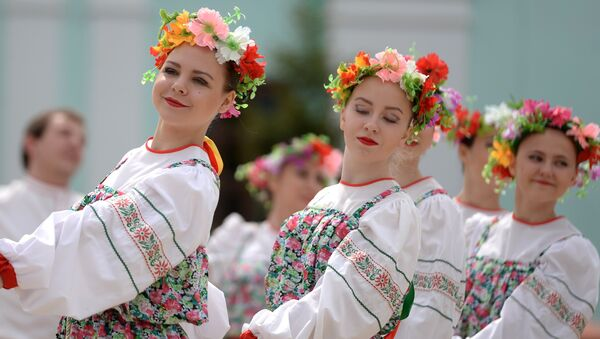 Рускае народнае свята, архіўнае фота - Sputnik Беларусь