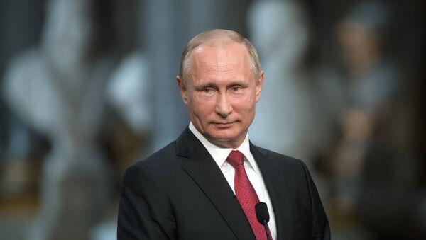 Прэзідэнт Расіі Уладзімір Пуцін - Sputnik Беларусь