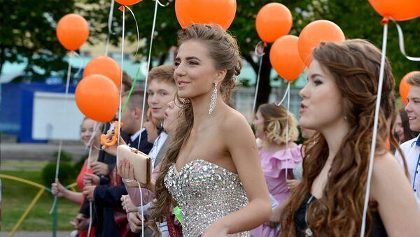 Гомельские выпускники - Sputnik Беларусь