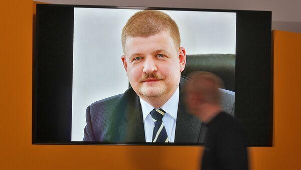 Заместитель председателя правления Национального банка Республики Беларусь Сергей Валерьевич Калечиц - Sputnik Беларусь