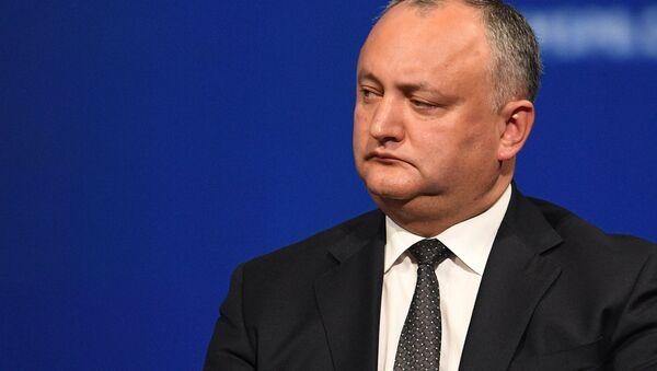 Президент Молдовы Игорь Додон - Sputnik Беларусь