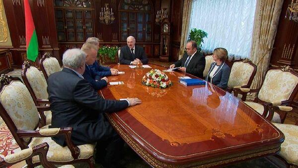 Втреча Александра Лукашенко и Германа Грефа - Sputnik Беларусь