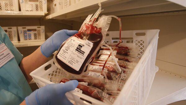 Донорская кровь хранится в специальных условиях до 28 дней - Sputnik Беларусь