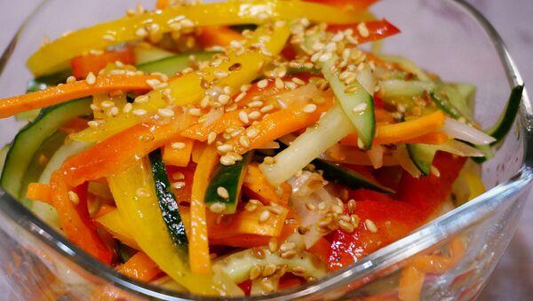 Японский салат из огурцов - Sputnik Беларусь