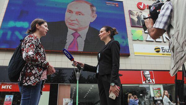 Трансляция Прямой линии с Владимиром Путиным - Sputnik Беларусь