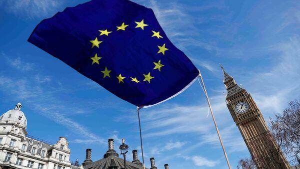 Флаг ЕС у Лондане - Sputnik Беларусь